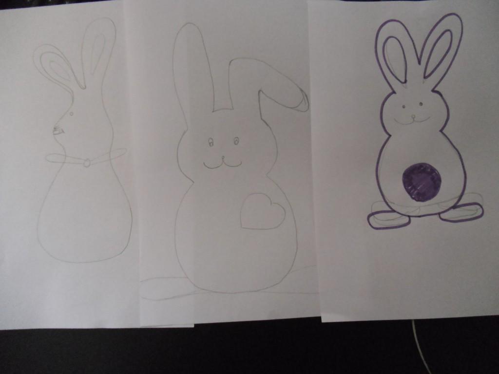 Drei Hasen